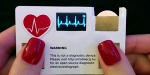 رونمایی از کارت ویزیتی که تعداد ضربان قلب را می شمارد