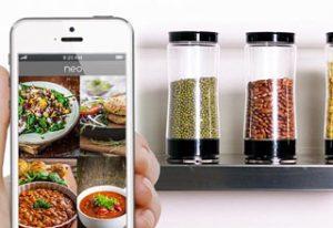 این ظرف هوشمند بطور خودکار غذا سفارش می دهد