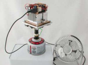 ابداع شارژر حرارتی گوشی کوهنوردان