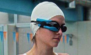 رونمایی از عینک های هوشمند شنا