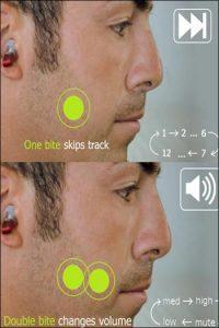 پخش موسیقی را به کمک دندانتان کنترل کنید