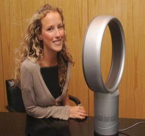 این پنکه جدید به نام Dyson Fann بدون داشتن پره و با استفاده از تکنولوژی جدید هوا را به درون میکشد. سپس به جلو می وزد.