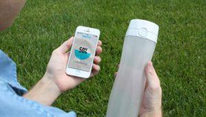 ارائه بطری آب هوشمند