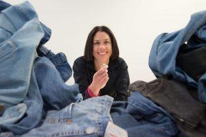 با استفاده از شلوار جین غضروف مصنوعی ساخته شد..!